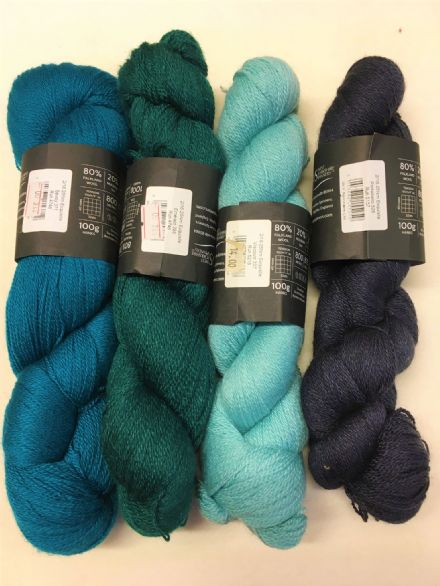 Exquisite Lace merino silk